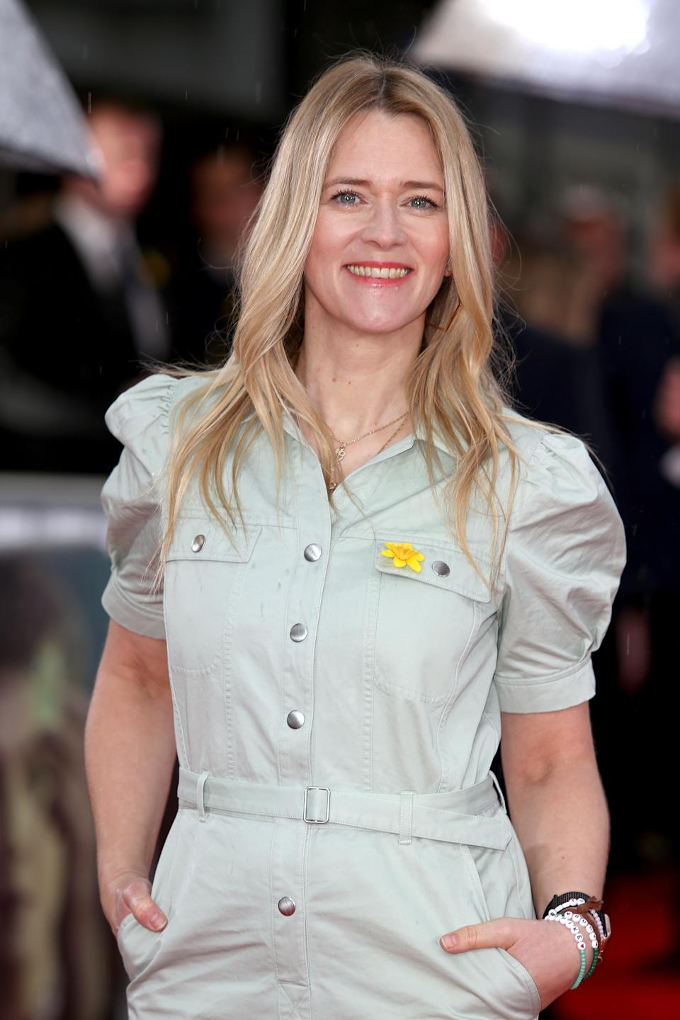 Edith Bowman is a spokesperson for the campaign. (Photo by Lauren Hurley/PA Images via Getty Images)