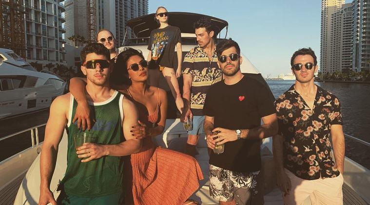 priyanka chopra, nick jonas miami vacation photos