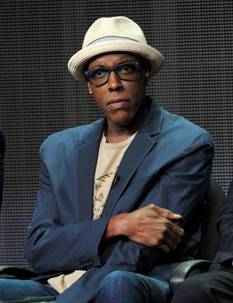 """FILE - In this July 29, 2013 file photo, Arsenio Hall participates in """"The Arsenio Hall Show"""" panel at the CBS Summer TCA in Beverly Hills, Calif. After two decades, Hall is returning to late night television with """"The Arsenio Hall Show,"""" premiering on Sept. 9. (Photo by Chris Pizzello/Invision/AP, File)"""