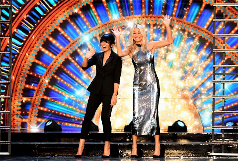 Hosts Claudia Winkleman (left) and Tess Daly at the launch of Strictly Come Dancing 2018 held at The Broadcasting House, London.