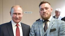 Conor McGregor Posed with Vladimir Putin, and People Are Not Happy About It
