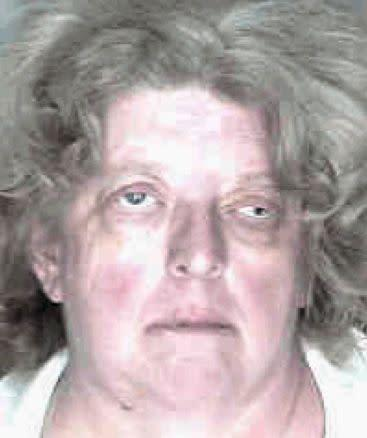 Christine Mitchell, age 54, was arrested for possession of cocaine.