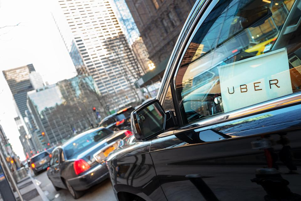 Uber was not immediately able to say how much it has paid drivers so far as part of its coronavirus assistance policy. (Getty Images)