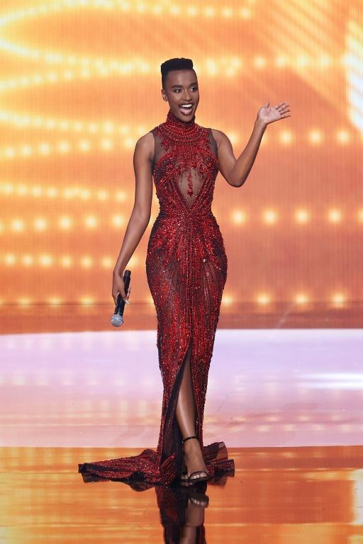 South Africa's Zozibini Tunzi became the first black woman with a short, natural haircut to be crowned Miss Universe (AFP/Rodrigo Varela)