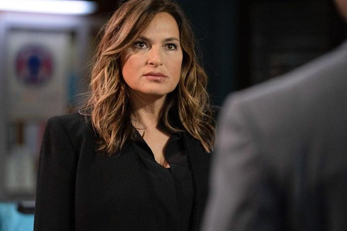 "Mariska Hargitay as Captain Olivia Benson in the new season of ""Law & Order: SVU."" The long-running police drama aired a story inspired by the May incident in Central Park in which a white woman called the police on a Black man who was bird watching."