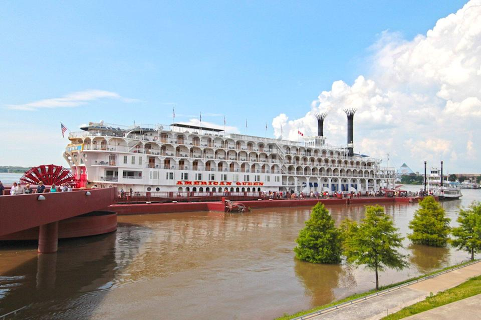 The AQ in Memphis by American Queen Steamboat Company