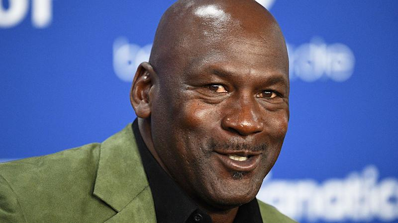 Seen here, basketball great Michael Jordan has just become a new co-owner of a NASCAR team.