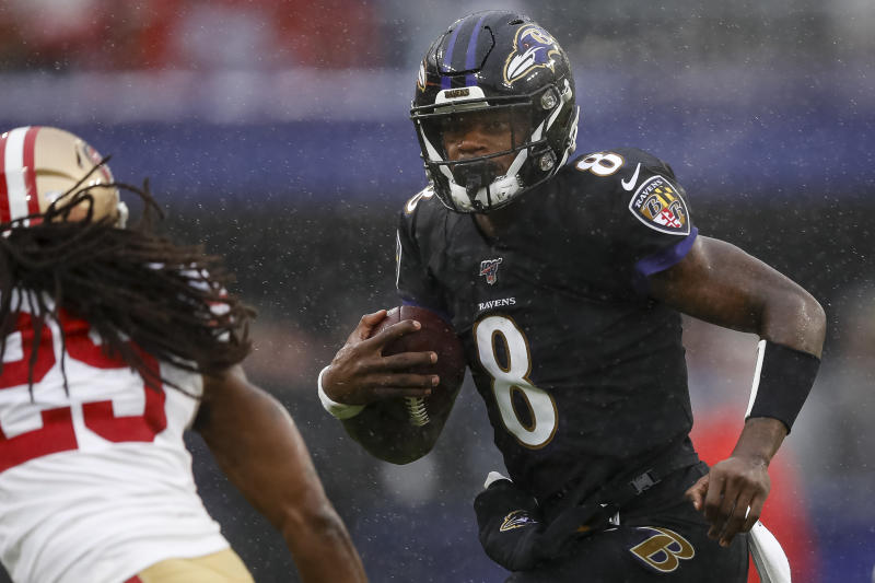 Let's do Ravens vs. 49ers again. (Scott Taetsch/Getty Images)