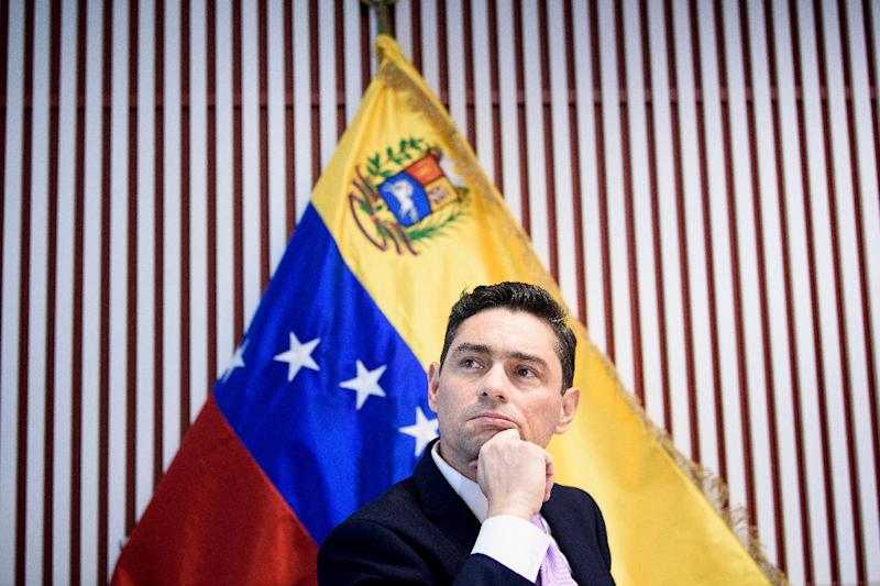 Venezuela opposition takes control of diplomatic properties in U.S.