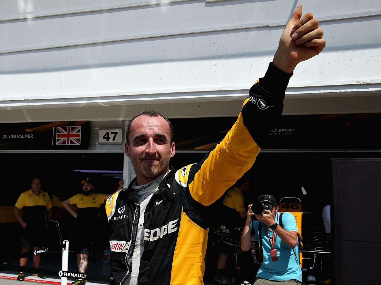 Robert Kubica back in business as Pole nears his return to F1 after suffering career-changing injuries