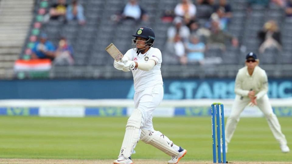 One-off Test, ENGW vs INDW: Visitors follow-on as Shafali shines