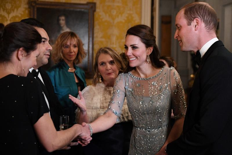 French magazines have described the royals' trip as a charm offensive ahead of Brexit (AFP Photo/Eric FEFERBERG)