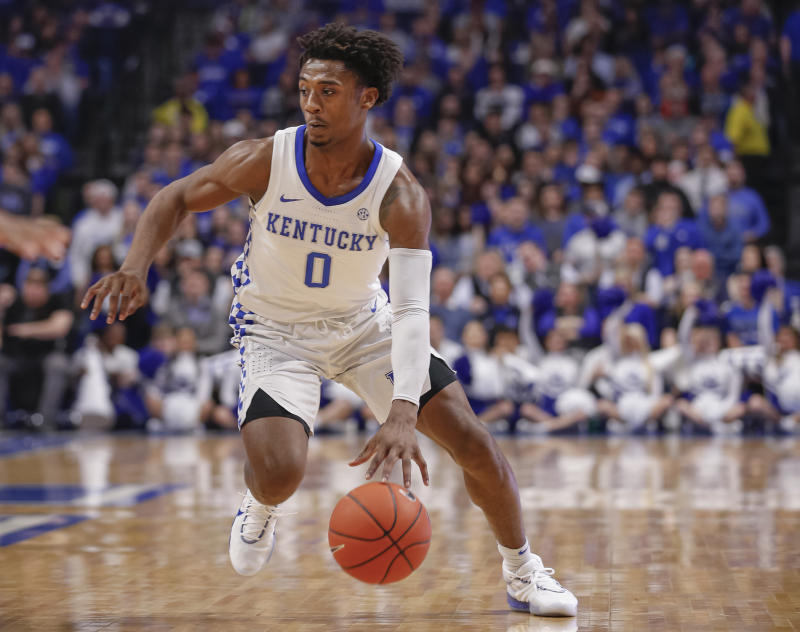 "Kentucky point guard Ashton Hagans is ""in a bad way"" and stepped away due to personal reasons, John Calipari said on Saturday."