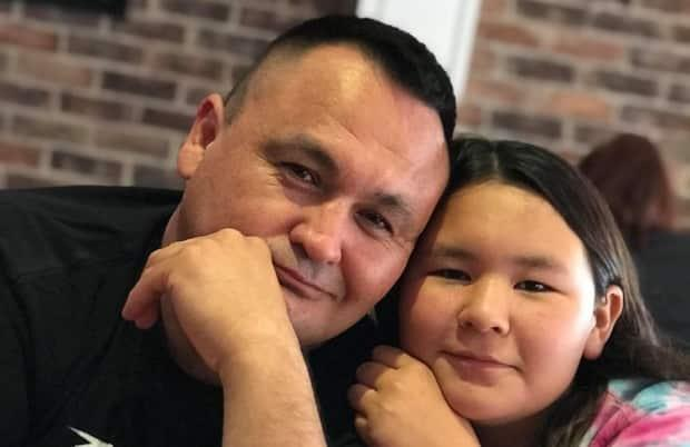 Chief of the Clearwater River Dene Nation, Teddy Clark says his community is seeing a positive impact from a settlement agreement it reached with the federal government earlier this year. (Chief Teddy Clark/Facebook - image credit)