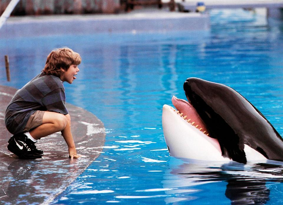 """<p><strong>HBO Max's Description:</strong> """"When maladjusted orphan Jesse vandalizes a theme park, he is placed with foster parents and must work at the park to make amends. There he meets Willy, a young Orca whale who has been separated from his family. Sensing kinship, they form a bond and, with the help of kindly whale trainer Rae Lindley develop a routine of tricks. However, greedy park owner Dial soon catches wind of the duo and makes plans to profit from them.""""</p> <p><a href=""""https://play.hbomax.com/feature/urn:hbo:feature:GXuOr5Qfh9MPCwgEAAA4T"""" class=""""link rapid-noclick-resp"""" rel=""""nofollow noopener"""" target=""""_blank"""" data-ylk=""""slk:Watch Free Willy on HBO Max here!"""">Watch <strong>Free Willy</strong> on HBO Max here!</a></p>"""