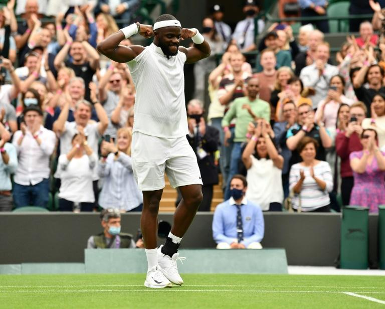 Frances Tiafoe said tennis is not always about peaches and cream but on Monday he had one of those days when he beat Wimbledon third seed Stefanos Tsitsipas in the first round
