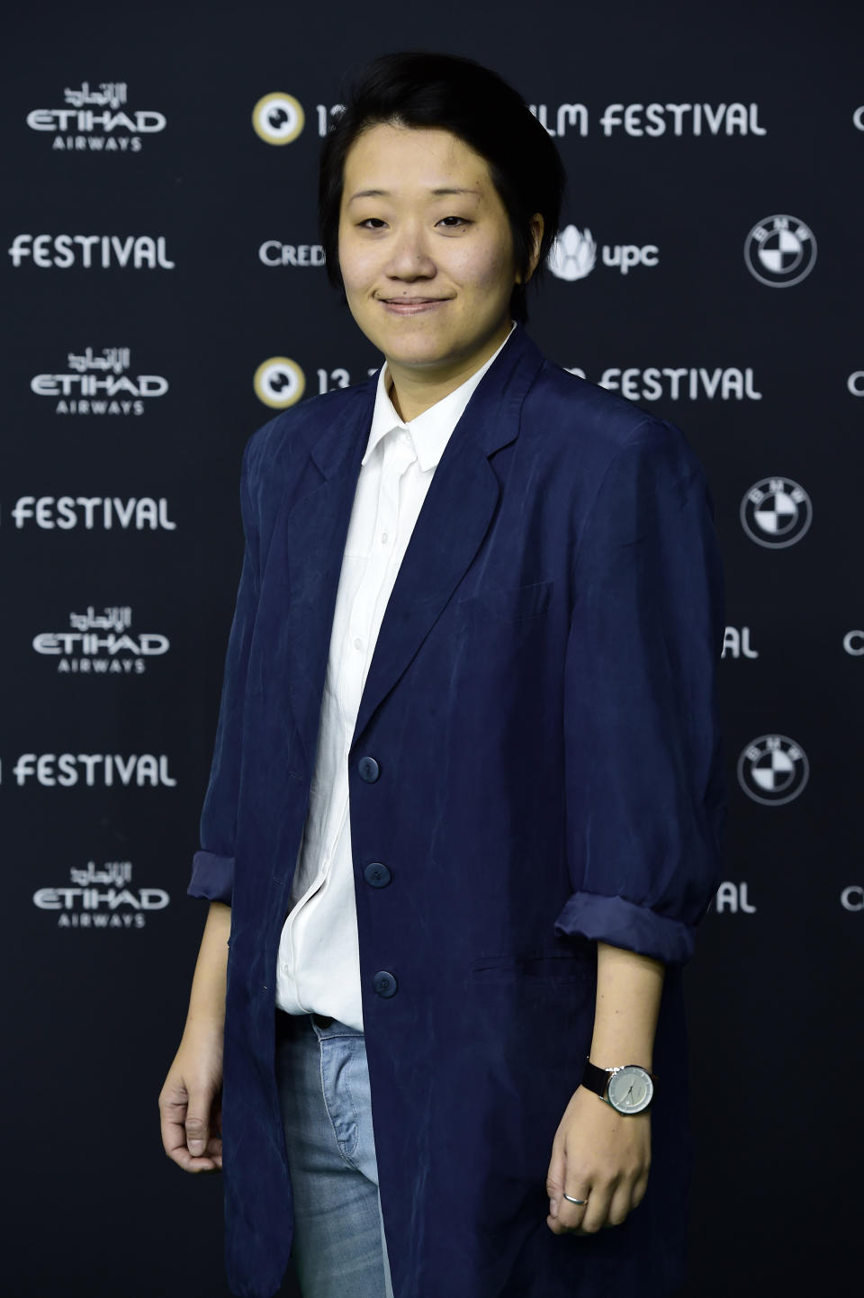 ZURICH, SWITZERLAND - OCTOBER 02:  Kirsten Tan attends the 'Pop Aye' photocall during the 13th Zurich Film Festival on October 2, 2017 in Zurich, Switzerland. The Zurich Film Festival 2017 will take place from September 28 until October 8.  (Photo by Alexander Koerner/Getty Images)