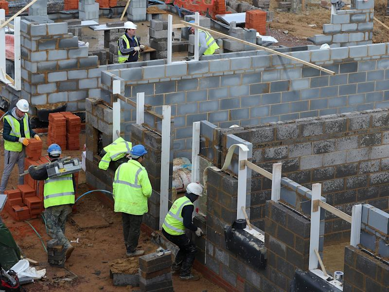 Government analysis also shows developers are taking significantly longer to build homes than they were four years ago: PA