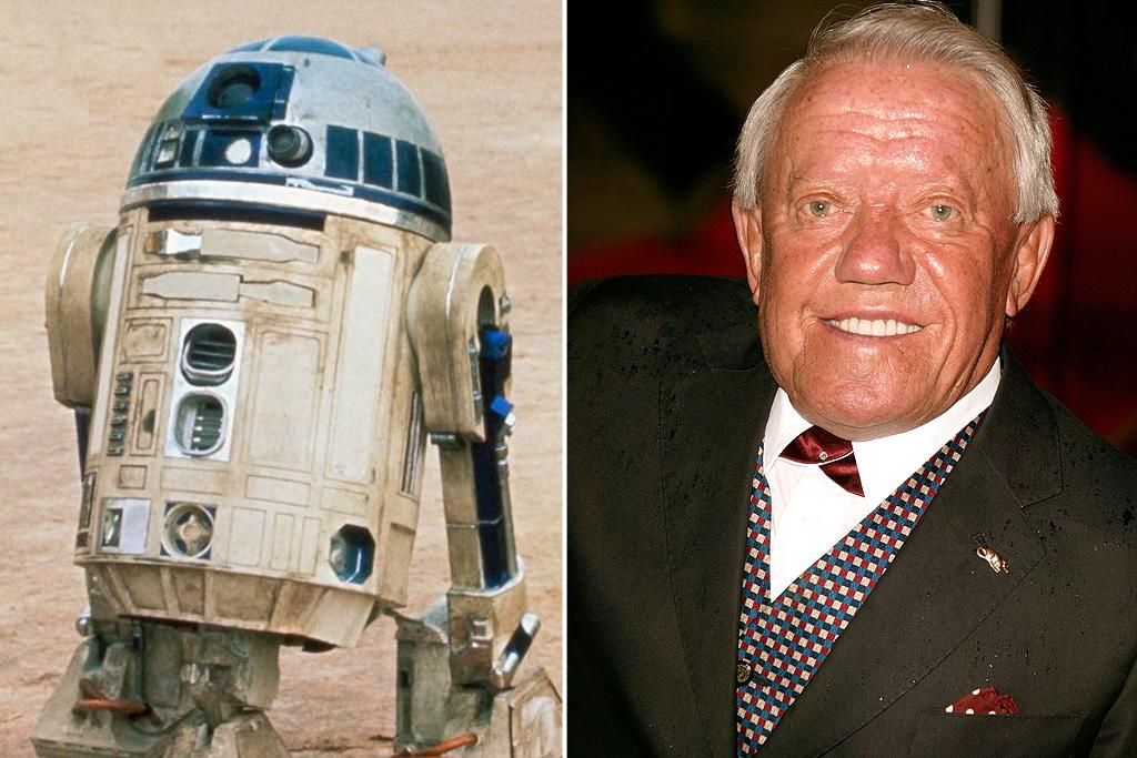 "Kenny Baker – R2-D2<br><br>Before becoming the toughest droid in the galaxy, the 3-foot-8 Kenny Baker was performing in a traveling comedy act called ""The Mini Tones"" with Jack Purvis (who would also find ""Star Wars"" work, as both a Jawa and an Ewok). On the set, Baker was lowered onto a seat inside his costume. Once inside, he manipulated two levers to move sideways--but only three inches at a time. When ""George Lucas directs me, usually he just says 'look this way' or 'look that way,' 'look excited,' 'wobble slowly,' 'wobble quickly,' that kind of thing,"" <a href=""http://news.bbc.co.uk/2/hi/entertainment/1645634.stm"">said Baker</a>. Aside from appearing in all six episodes of ""Star Wars,"" Baker has enjoyed a fruitful career on stage and screen, appearing in dozens of films such as ""Flash Gordon"" (1980), ""Time Bandits"" (1981), and ""Amadeus"" (1984)."