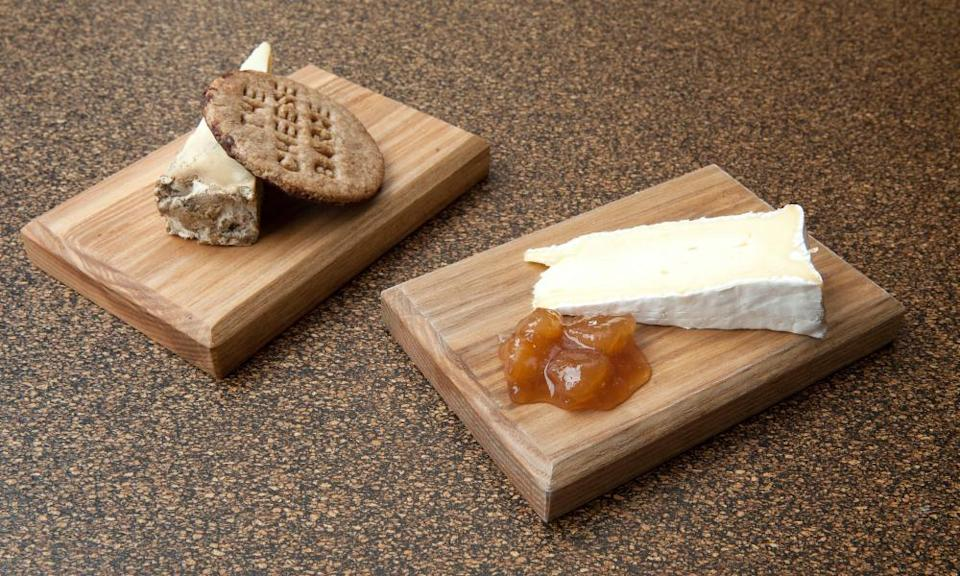 Cheeseboards at The Cheese Barge: 'It is genuinely employing some of the UK's very loveliest things.'