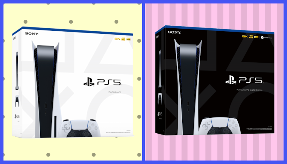 Both the standard and digital editions of the PlayStation 5 are available at Walmart. (Photo: Sony)