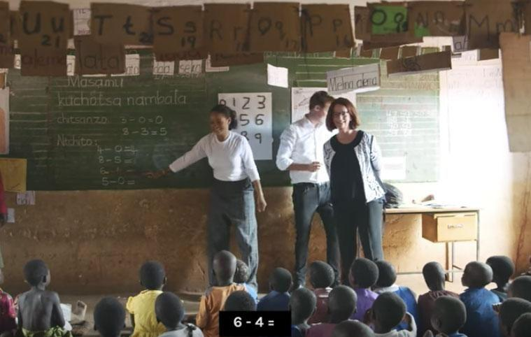 Rihanna and Julia Gillard continue to prove that girl power rules, with the two reuniting in Malawi recently to continue their charity work with the Global Partnership for Education. Source: Global Citizen