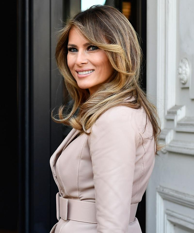 Melania Trump Returns to the Spotlight After 24-Day Absence