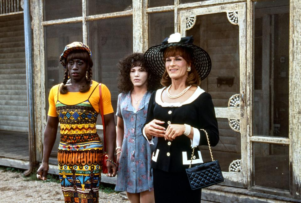 The three stars of 'To Wong Foo' occasionally got aggressive with each other on set (Photo: Lorey Sebastian / © Universal/courtesy Everett Collection)