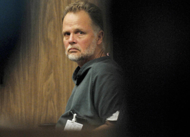 """Photo of Charles """"Chase"""" Merritt while on trial for the murder of family-of-four. Source: AAP"""