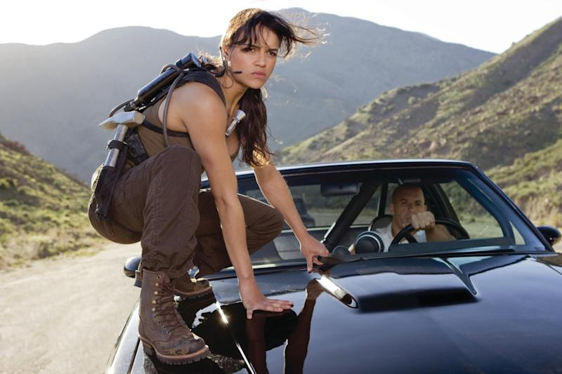 Michelle Rodriguez in 2009's 'Fast & Furious' (Universal)