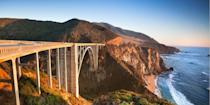 """<p><strong>Best for a Scenic Drive </strong></p><p>If you've seen HBO's <em>Big Little Lies</em>, you've no doubt been blown away by the gorgeous cliff-hugging backdrops, especially around Bixby Bridge, the iconic 280-foot-high span on the Pacific Coast Highway. This jaw-dropping stretch from Carmel to the boho hangout of Big Sur is surely one of the <a href=""""https://www.bestproducts.com/fun-things-to-do/g3483/scenic-drives-road-trips-in-america/"""" rel=""""nofollow noopener"""" target=""""_blank"""" data-ylk=""""slk:world's greatest scenic drives"""" class=""""link rapid-noclick-resp"""">world's greatest scenic drives</a>. </p><p><strong><em>Where to Stay: </em></strong><a href=""""https://go.redirectingat.com?id=74968X1596630&url=https%3A%2F%2Fwww.tripadvisor.com%2FHotel_Review-g32737-d472047-Reviews-Portola_Hotel_Spa_at_Monterey_Bay-Monterey_Monterey_County_California.html&sref=https%3A%2F%2Fwww.countryliving.com%2Flife%2Fg37186621%2Fbest-places-to-experience-and-visit-in-the-usa%2F"""" rel=""""nofollow noopener"""" target=""""_blank"""" data-ylk=""""slk:Portola Hotel & Spa"""" class=""""link rapid-noclick-resp"""">Portola Hotel & Spa</a>, <a href=""""https://go.redirectingat.com?id=74968X1596630&url=https%3A%2F%2Fwww.tripadvisor.com%2FHotel_Review-g32172-d498277-Reviews-Comfort_Inn_Carmel_By_The_Sea-Carmel_Monterey_County_California.html&sref=https%3A%2F%2Fwww.countryliving.com%2Flife%2Fg37186621%2Fbest-places-to-experience-and-visit-in-the-usa%2F"""" rel=""""nofollow noopener"""" target=""""_blank"""" data-ylk=""""slk:Comfort Inn Carmel-by-the-Sea"""" class=""""link rapid-noclick-resp"""">Comfort Inn Carmel-by-the-Sea</a></p>"""