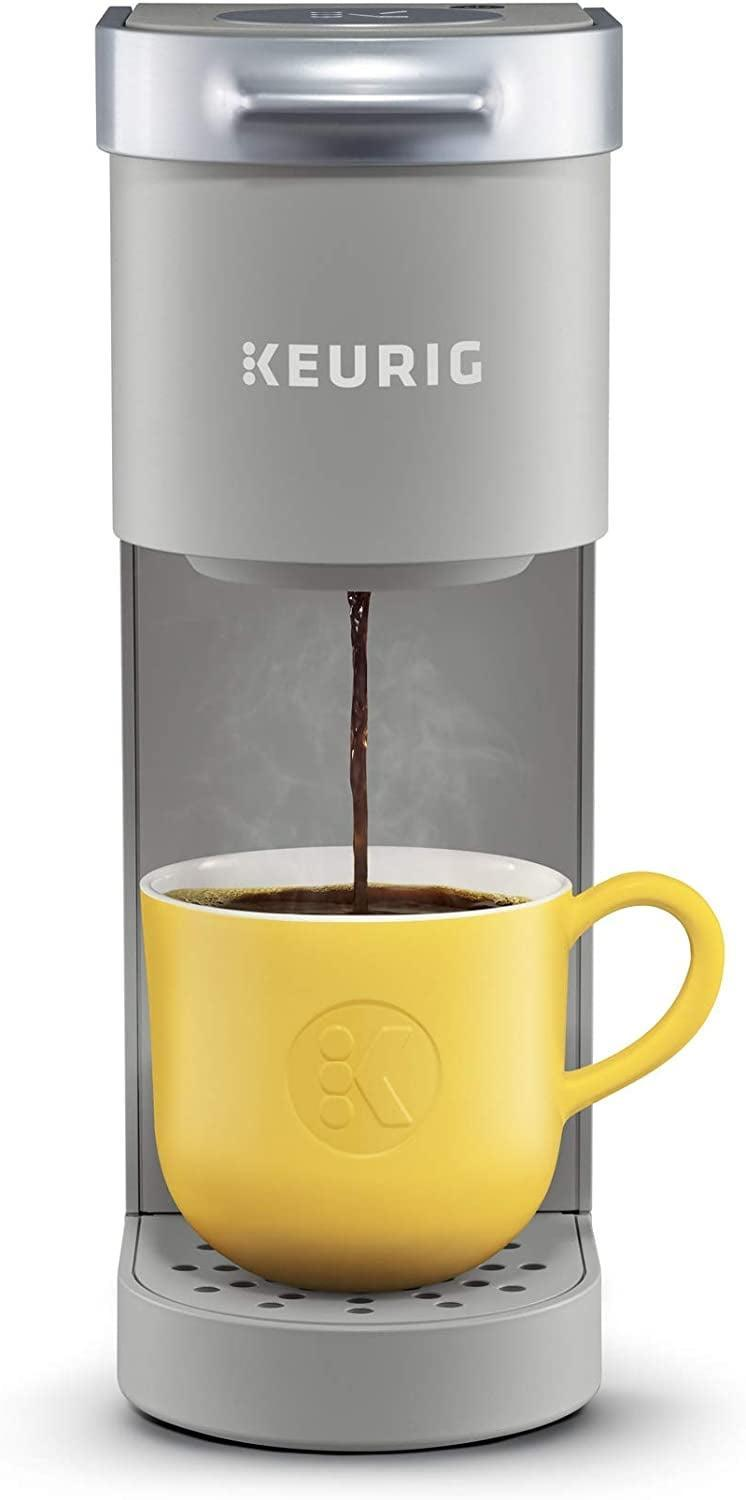 <p>If you have limited counter space, this <span>Keurig K-Mini Coffee Maker</span> ($70, originally $80) is perfect for your kitchen. Not only does it come in a variety of cute colors, but its sleek design also lets you enjoy your coffee without the clutter. </p>