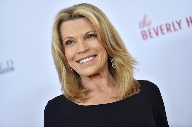 Vanna White at the Beverly Hilton Hotel on May 10, 2019 in Beverly Hills, Calif. (Photo: Axelle/Bauer-Griffin/FilmMagic)