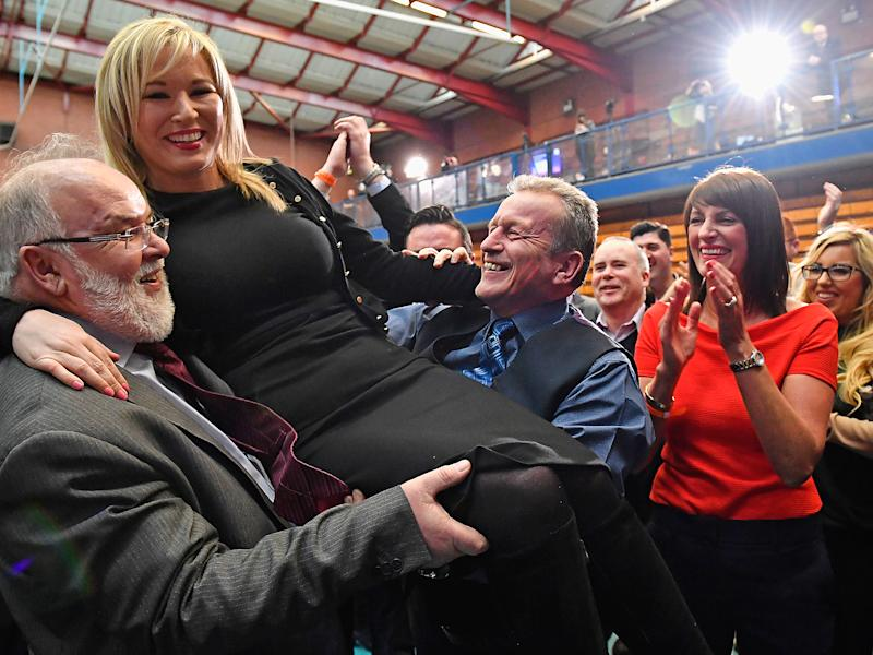 Sinn Fein made significant gains in the Northern Ireland elections: Getty