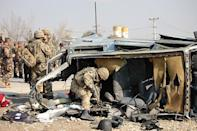 One Briton killed in Kabul suicide attack: Afghan police
