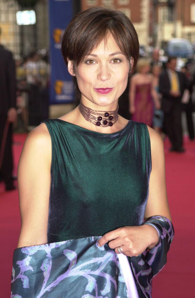Leah Bracknell pictured in 2001 (Photo: PA Wire/PA Images)
