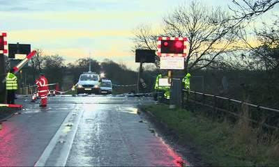 Child Fights For Life After Crossing Crash
