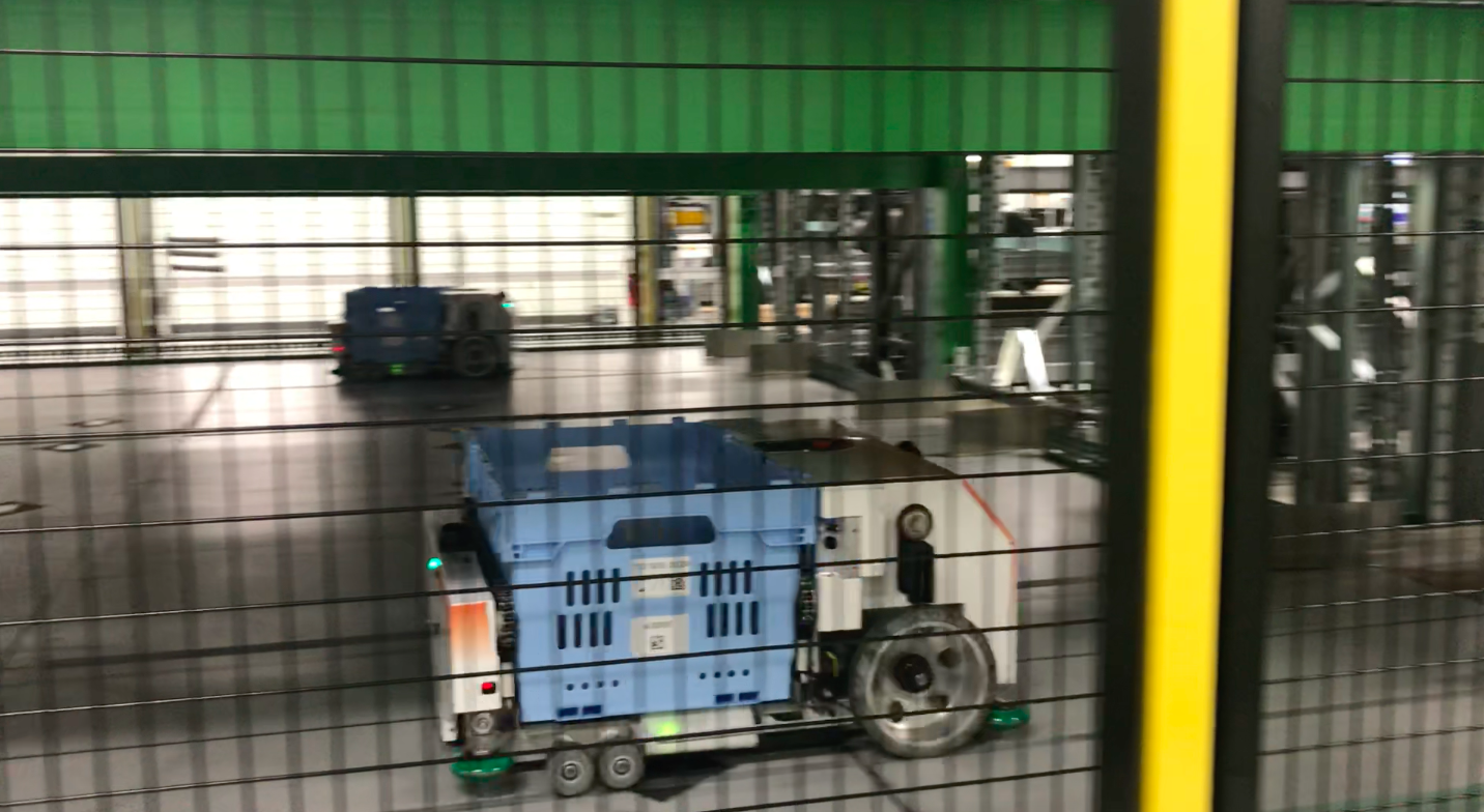Walmart Partners With Alert Innovation For Robots In Store Video