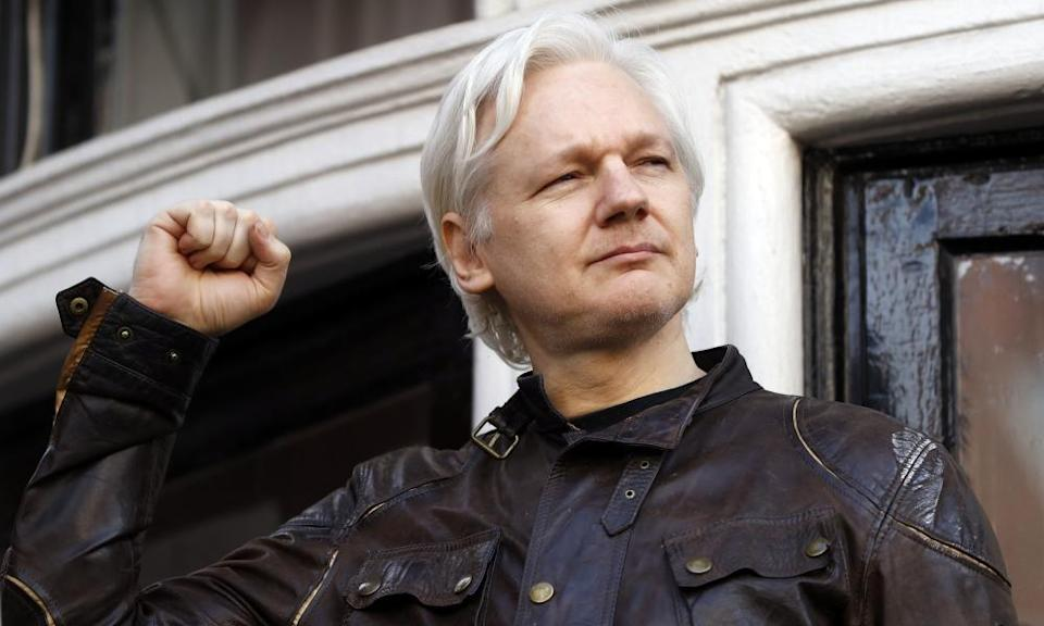 Julian Assange is now in prison in London, from where he is fighting extradition to the US.