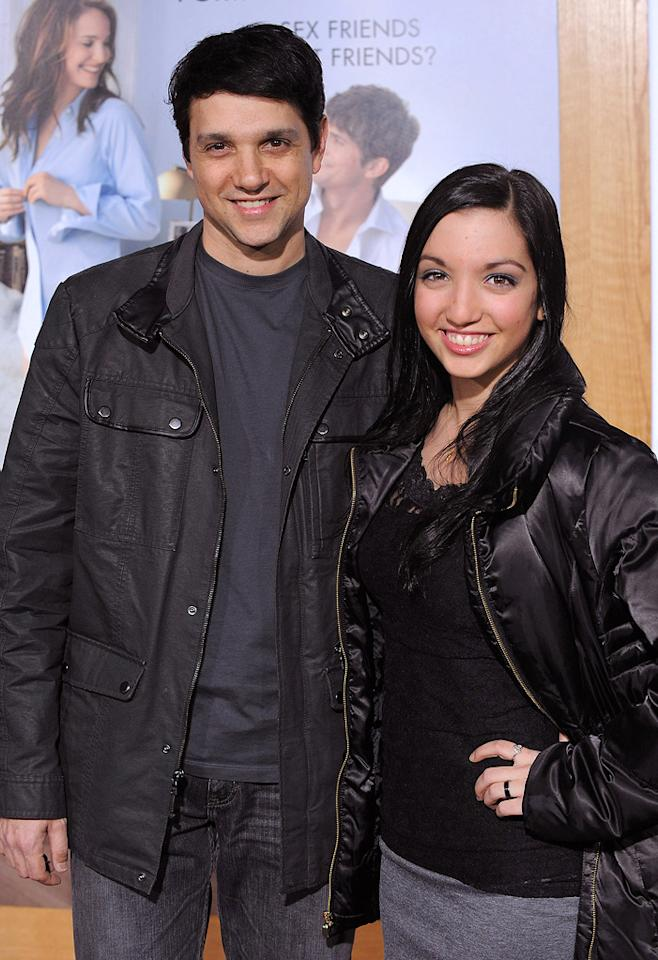 """<a href=""""http://movies.yahoo.com/movie/contributor/1800052185"""">Ralph Macchio</a> and guest attend the Los Angeles premiere of <a href=""""http://movies.yahoo.com/movie/1810159162/info"""">No Strings Attached</a> on January 11, 2011."""