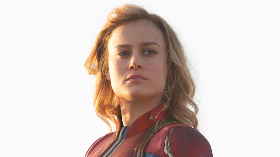 Captain Marvel had a more natural look in her solo film, released in March. (Disney)