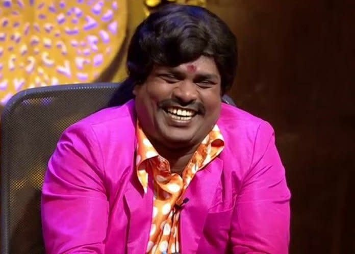 """Tamil comedian, mimicry artist and actor, Vadivel Balaji, passed away aged 45 on September 10, this year. He had suffered a cardiac arrest. Vadivel was best known for his work on the Tamil channel Vijay TV; he had also acted in films such as En Rasavin Manasile and Kolamavu Kokila, apart from TV shows such as Kalakapovathu Yaaru. <br><em><strong>Image credit:</strong></em> <a href=""""https://twitter.com/Actor_Mahendran/status/1304014680088694786/photo/1"""" class=""""link rapid-noclick-resp"""" rel=""""nofollow noopener"""" target=""""_blank"""" data-ylk=""""slk:Twitter"""">Twitter</a>"""