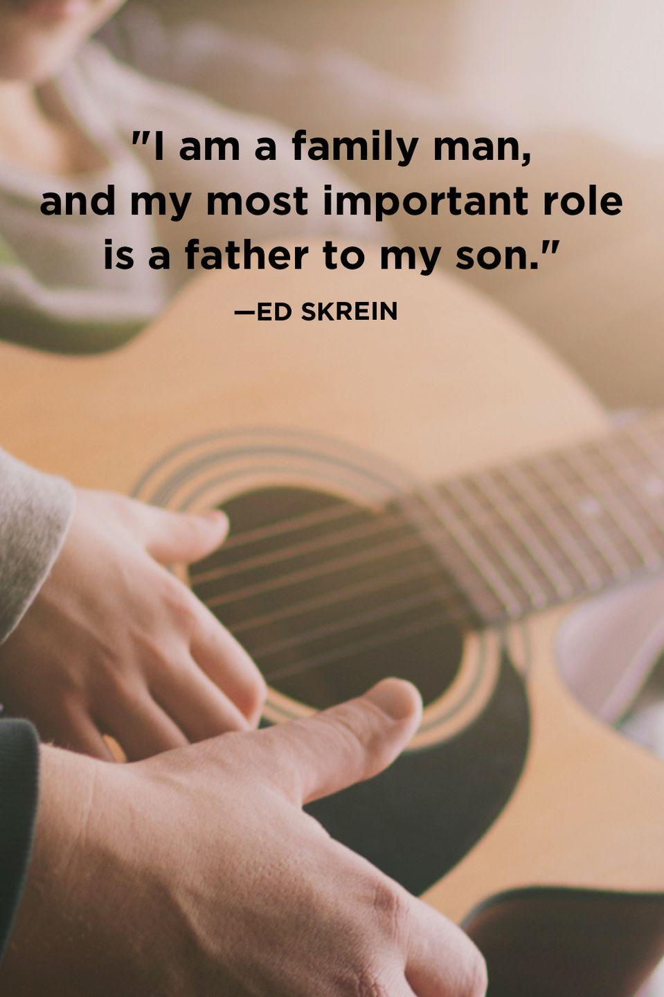 """<p>""""I am a family man, and my most important role is a father to my son.""""</p>"""