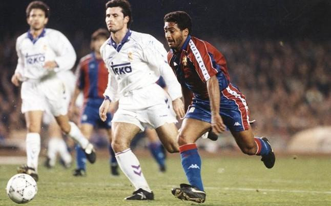 Romário Barcelona x Real Madrid