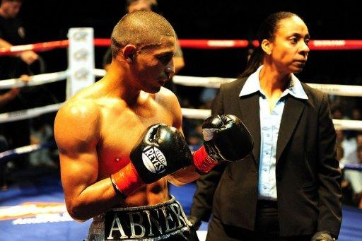 Abner Mares moved up in weight after capturing the International Boxing Federation bantamweight crown last August