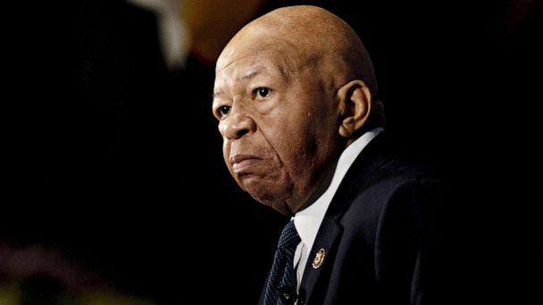 PHOTO: Representative Elijah Cummings and chairman of the House Oversight Committee speaks during a National Press Club event in Washington, D.C., Aug. 7, 2019. (Andrew Harrer/Bloomberg via Getty Images, FILE)