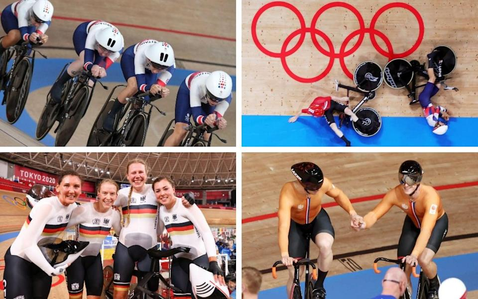 Track Cycling, Tokyo Olympics 2020 live: Kennys find silver lining on dramatic day in velodorome
