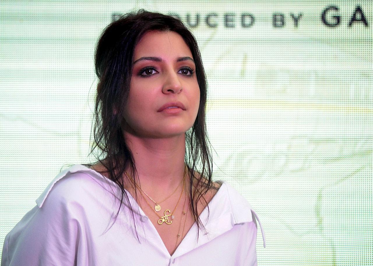<p>Anushka Sharma, 2017 Brand Rank 14, Brand Value $16 million, 2016 Rank 12, Brand ambassador for Manyavar and Mohey </p>