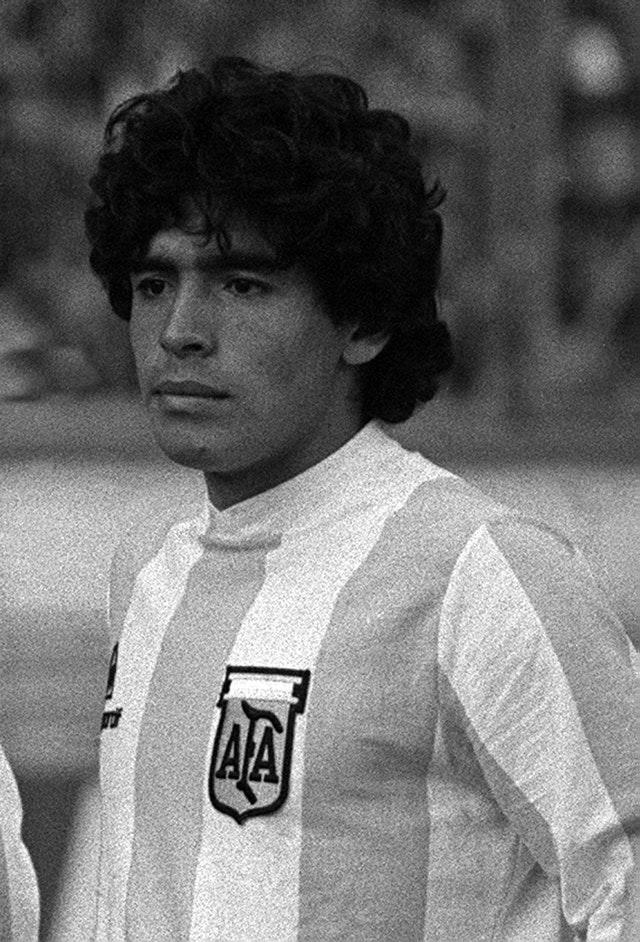 Maradona was an exciting young talent
