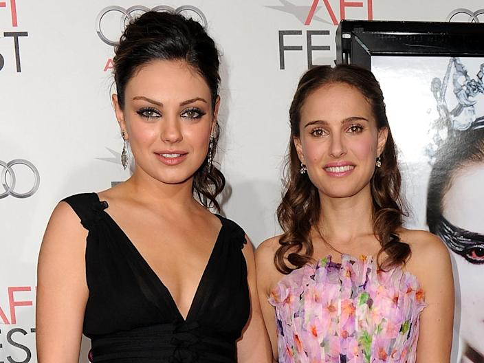 """Mila Kunis and Natalie Portman starred in """"Black Swan."""" <p class=""""copyright"""">Alberto E. Rodriguez/Getty Images for AFI</p>"""